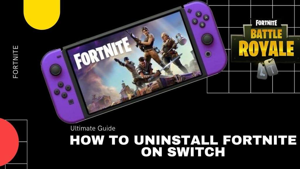 How to Uninstall Fortnite on Switch