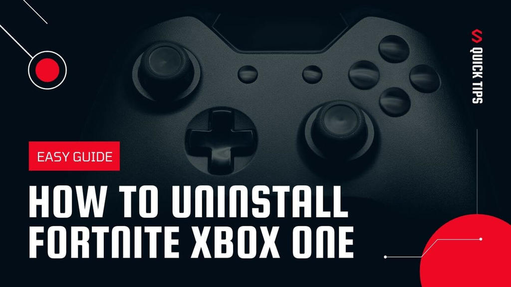 how to uninstall fortnite xbox one